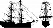 foto of sail ship  - An old pirate - JPG