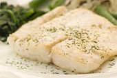 stock photo of hake  - Barramundi Fillet - JPG