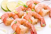 picture of braai  - Prawn Skewer - JPG