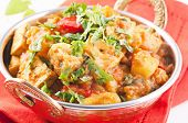 stock photo of paneer  - Paneer vegetable Jalfrezi - JPG