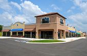 picture of awning  - Generic New Shopping Center with Commercial and Retail Space Available - JPG
