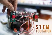 Creating Robotics Project For Stem Education, Diy Electronic Kit For Robot Electronic Board Tracking poster