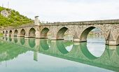 pic of former yugoslavia  - bridge over Drina River - JPG