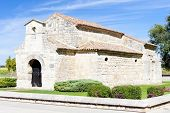 Church of San Juan Bautista, Banos de Cerrato, Castile and Leon, Spain