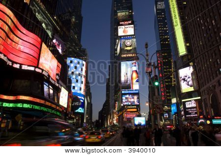 Times Square in der Nacht