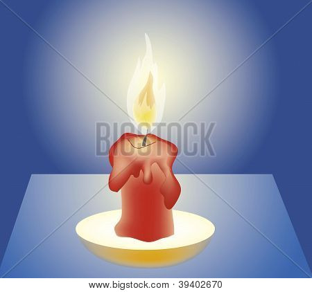 vector candle