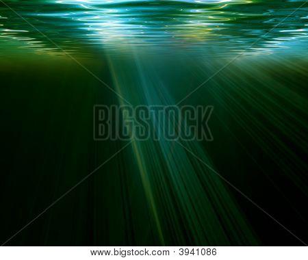 Escena submarina