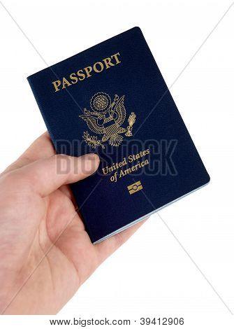 Passport In White Pocket