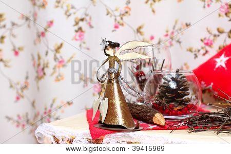 Christmas Angel Indoors