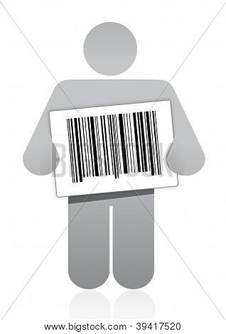 Upc Barcode And Icon
