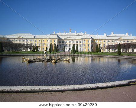 peterhof palace garden