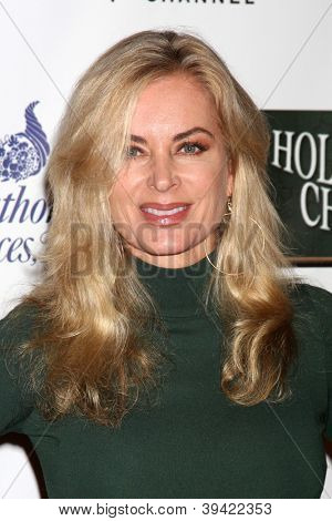 LOS ANGELES - NOV 25:  Eileen Davidson arrives at the 2012 Hollywood Christmas Parade at Hollywood & Highland on November 25, 2012 in Los Angeles, CA
