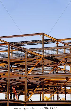 Marco de acero construcción