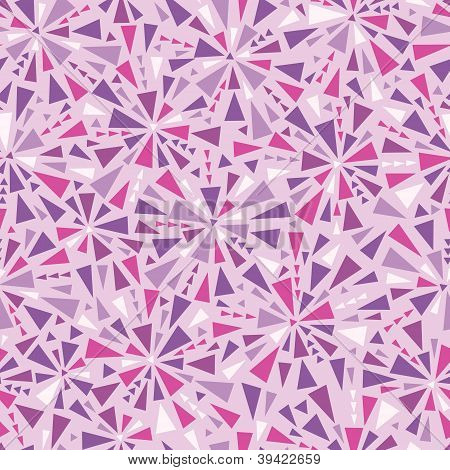 Abstract colorful triangles texture seamless pattern background