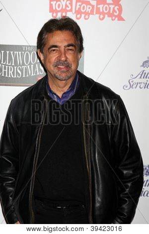 LOS ANGELES - NOV 25:  Joe Mantegna arrives at the 2012 Hollywood Christmas Parade at Hollywood & Highland on November 25, 2012 in Los Angeles, CA