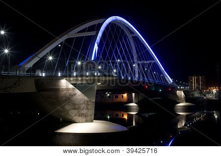Lowry Avenue Illuminated Bridge