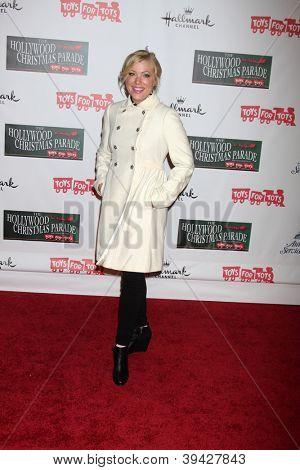 LOS ANGELES - NOV 25:  Jennifer Aspen arrives at the 2012 Hollywood Christmas Parade at Hollywood & Highland on November 25, 2012 in Los Angeles, CA