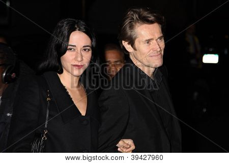 NEW YORK, NY - NOVEMBER 26: Giada Colagrande and Willem Dafoe attends the IFP's 22nd Annual Gotham Independent Film Awards at Cipriani Wall Street on November 26, 2012 in New York City.