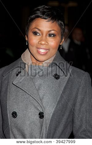 NEW YORK, NY - NOVEMBER 26: Actress Emayatzy Corinealdi attends the IFP's 22nd Annual Gotham Independent Film Awards at Cipriani Wall Street on November 26, 2012 in New York City.