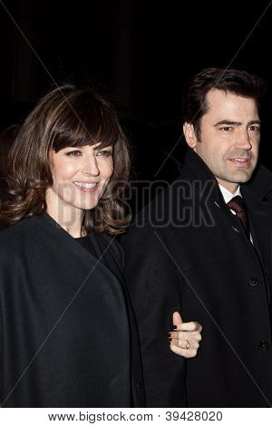 NEW YORK, NY - NOVEMBER 26: Rosemarie DeWitt and Ron Livingston attend the IFP's 22nd Annual Gotham Independent Film Awards at Cipriani Wall Street on November 26, 2012 in New York City