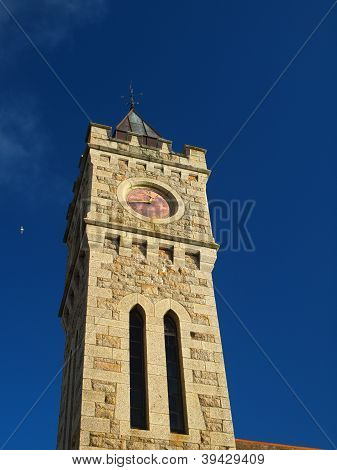 Porthleven Institute Clock Tower