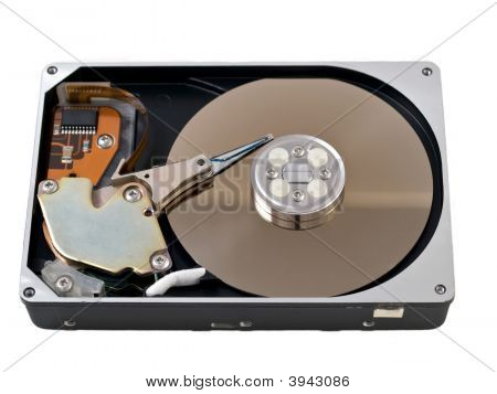 Open Hard Drive Disk