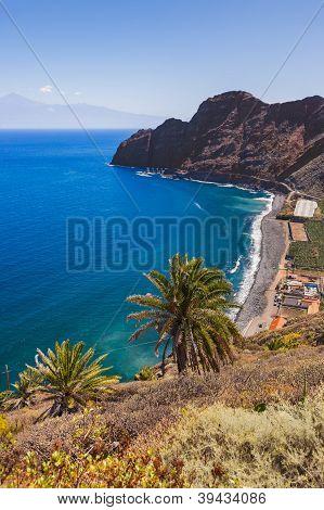 Beach In La Gomera Island - Canary