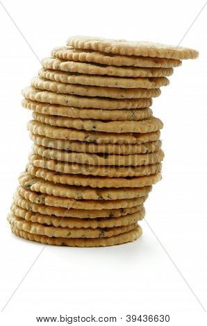 Stack Of Dry Biscuits