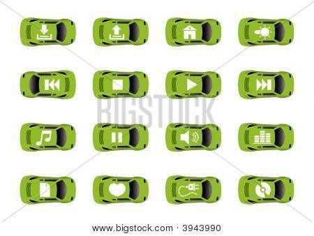 Ícones de auto