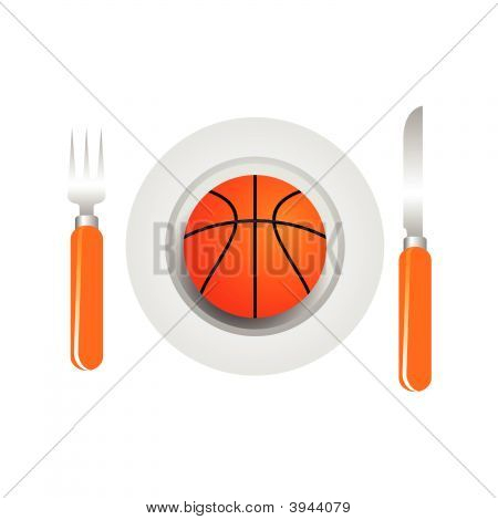 Basketball Dish
