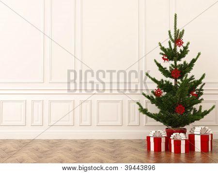Christmas Tree In Interior