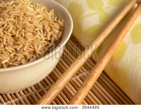 Chopsticks And Rice