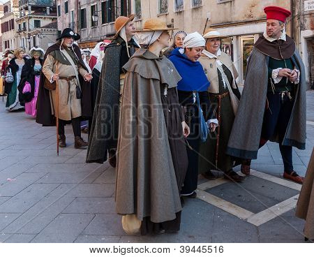Parade Of Medieval Costumes