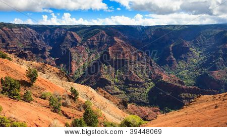 Waimea Canyon Panorama