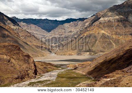 Beautiful Himalayan Valley