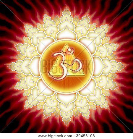 Aum Lotus Sun