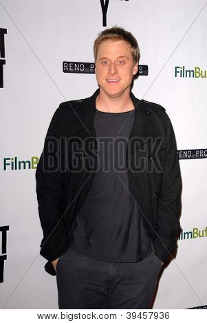 LOS ANGELES - NOV 27:  Alan Tudyk arrives at the 'Certainty' Los Angeles premiere at Laemmle Music Hall on November 27, 2012 in Beverly Hills, CA