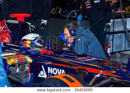 Team Toro Rosso F1, Daniel Ricciardo, 2012