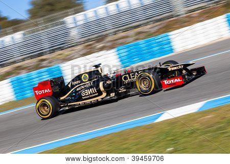 Team Lotus Renault F1, Kimi Raikkonen, 2012
