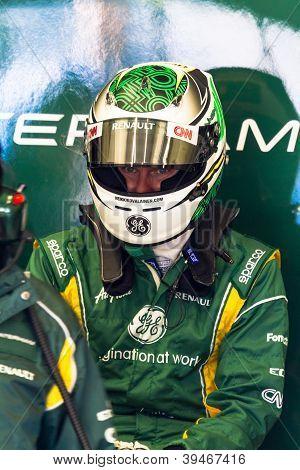 Team Catherham F1, Heikki Kovalainen, 2012