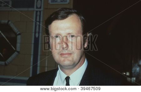 BLACKPOOL, ENGLAND - OCTOBER 10: Humfrey Malins, Conservative party Member of Parliament for Croydon North West, attends the party conference on October 10, 1989 in Blackpool, Lancashire.