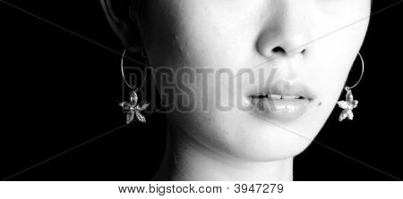 Mouth And Earring
