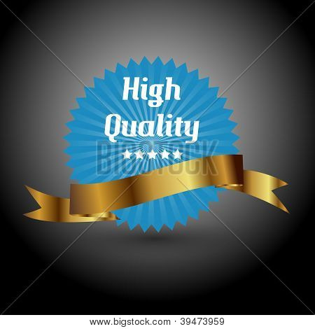 High quality label. Vector illustration sign.