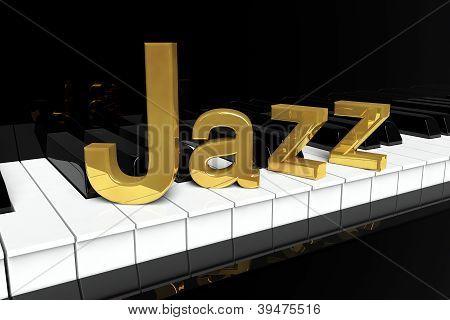 Golden jazz Zeichen