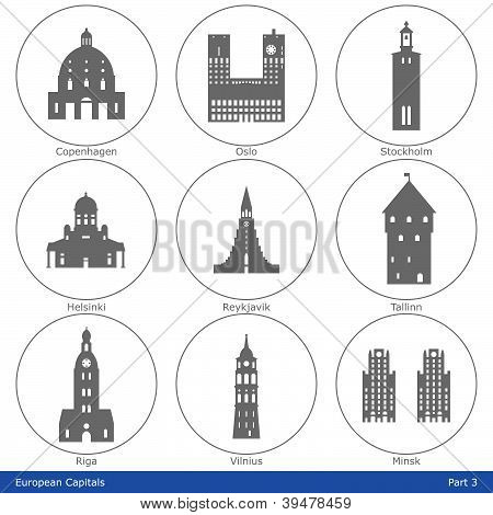European Capitals - Part 3