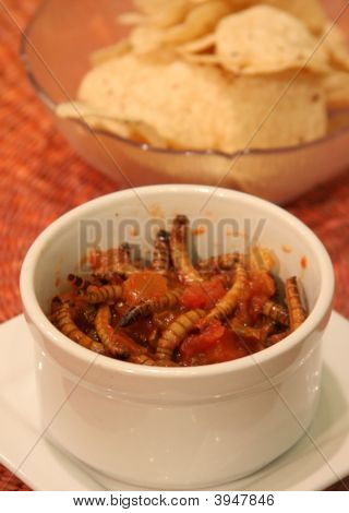 Meal Worm Salsa