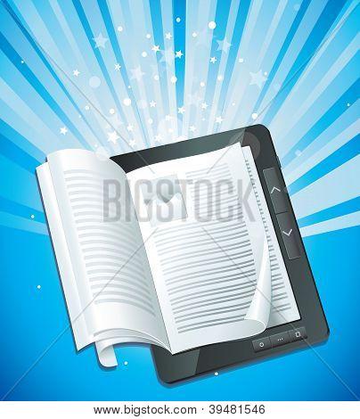 Conceito de livro eletrônico