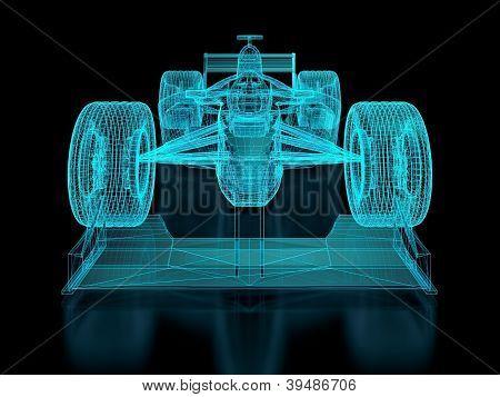 Formula One Mesh
