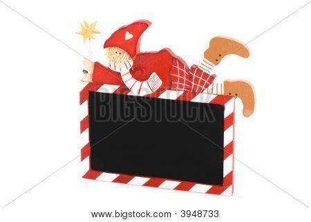Placa de Natal.