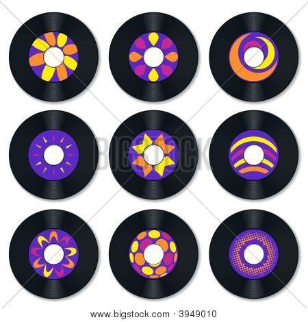Record Vinyl Retro P